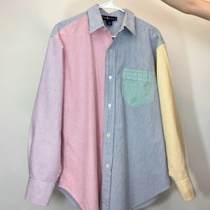 Ralph Lauren ColorBlocked Button up